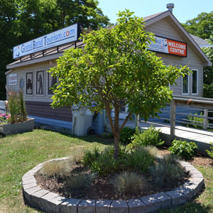Welcome Centre in Grand Bend (Photo: F. Beattie)