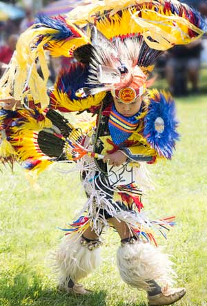 KSPFN Pow Wow dancer (Photo: Teya Cloud)