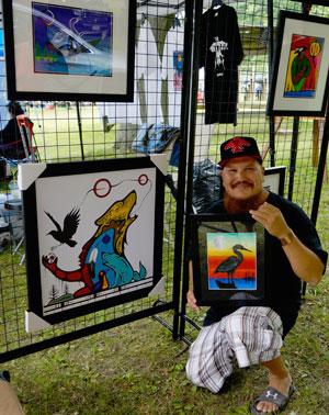 Jeff George at KSPFN Pow Wow - by jbaillie