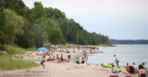 Photo of Bayfield Beach courtesy Municipality of Bluewater