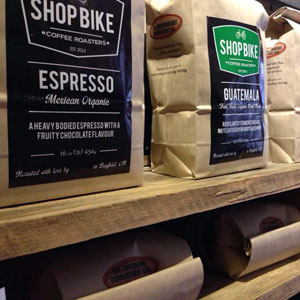 Photo: Shopbike Coffee Roasters