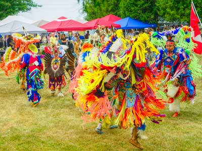 KSPN Pow Wow Dancers (Photo: J. Baillie)