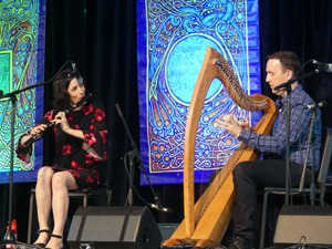 Celtic Festival performers Michael and June