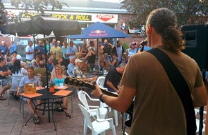 Brian Dale on Gables Patio